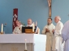 During the eucharistic prayer
