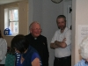 Tuesday lunchtime: Msgr Edwin Barnes with Andrew