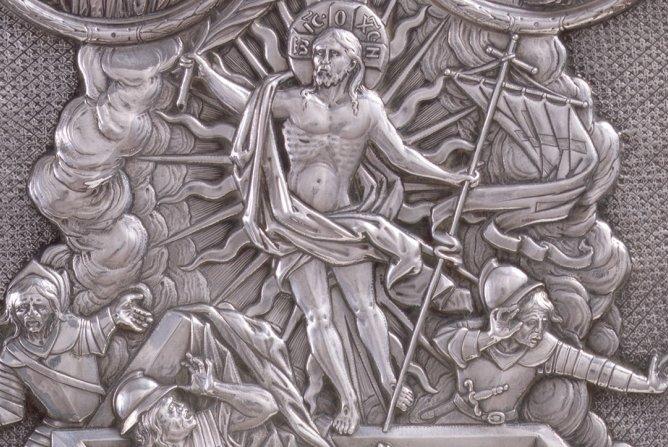 Renaissance silver book-cover