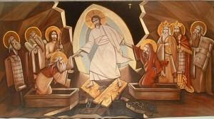 Coptic icon of the Resurrection
