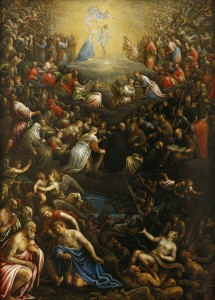 The Last Judgement: Leandro Bassano (1557–1622), c.1600; Birmingham Museum of Art