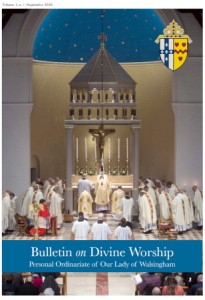 Cover of Issue 1 of the Bulletin on Divine Worship