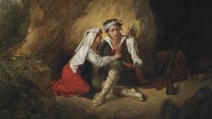 """Some consolation"" (detail), Pierre van Hanselaere (Ghent, 1786–1862), 1825"