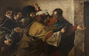The Tribute Money, Giovanni Serodine (1600-1630); National Galleries of Scotland