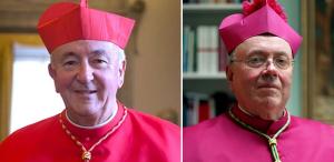 Cardinal Nichols and Archbishop McMahon