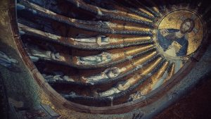 "Inner Narthex, Church of the Holy Saviour, Chora, Istanbul; photo by ""fusion-of-horizons"" via pxhere.com"