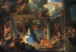 Adoration of the Shepherds, Charles Le Brun (1619–1690), 1689; Louvre, Paris