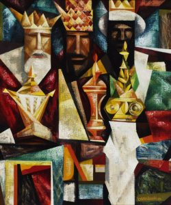 The Three Kings, Edmund Lewandowski (1914–1998); Hallmark Art Collection