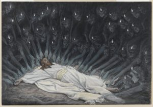 Jésus assisté par les anges, James Tissot (1836–1902), 1886–1894; Brooklyn Museum, New York