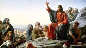 Sermon on the Mount (detail), Carl Heinrich Bloch (1834–1890), 1877; Frederiksborg Castle, Hillerød, Denmark