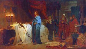 Raising of Jairus Daughter, Ilia Efimovich Repin (1844–1930), 1871; The State Russian Museum, Saint Petersburg