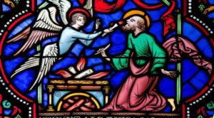 Isaiah receiving the burning coals