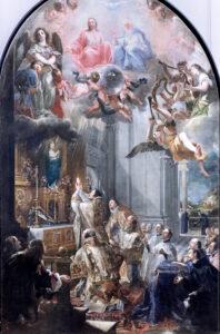 La Messe de fondation de l'Ordre des Trinitaires, Juan Carreño de Miranda (1614–1685), 1666, Madrid; The Louvre, Paris. Photo by Jean Louis Mazieres