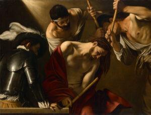 The Crowning with Thorns, Michelangelo Merisi [Caravaggio] (1571–1610), c.1605; Kunsthistorisches Museum, Vienna