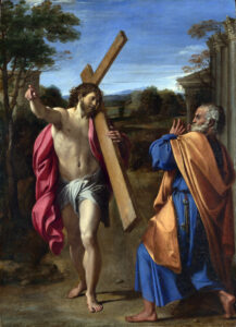 Jesus and St Peter, Annibale Caracci  (1560–1609), 1602; National Gallery, London